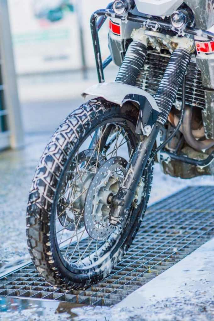 motor wassen schuim