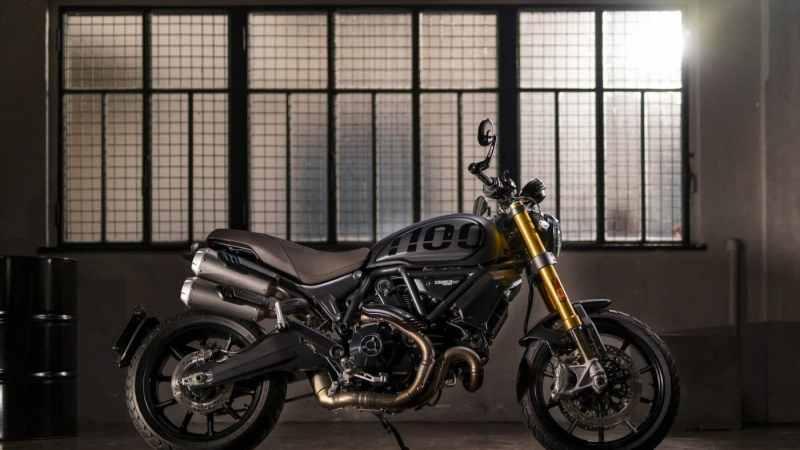 Nieuwe Scrambler Ducati 1100