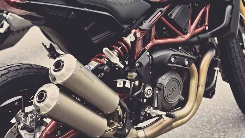 hoeveel geluid motorfiets