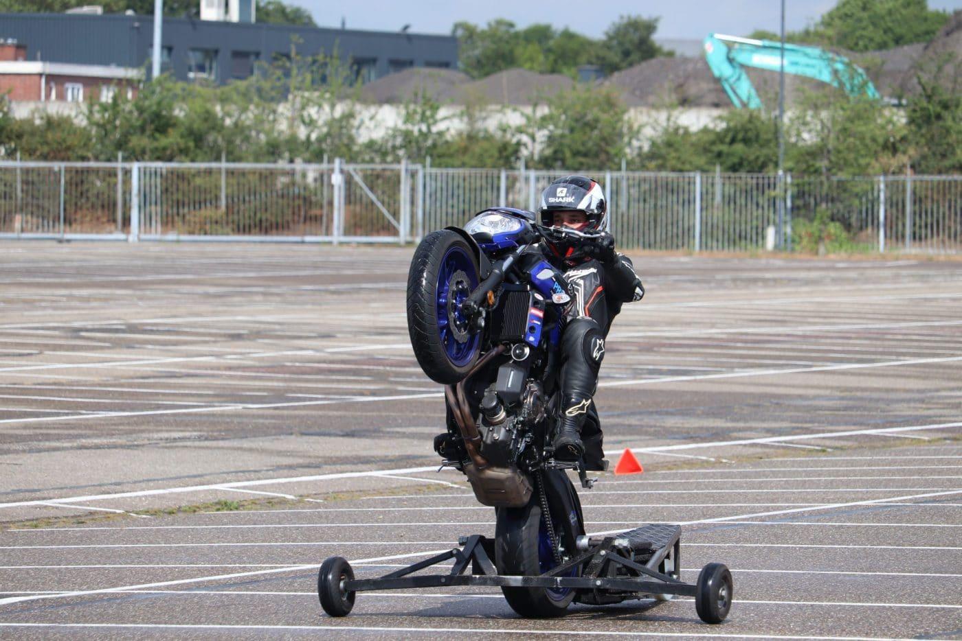 Een wheelie cursus volgen: hoe is dat?