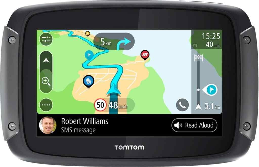 De beste motor navigatie: TomTom Rider 550