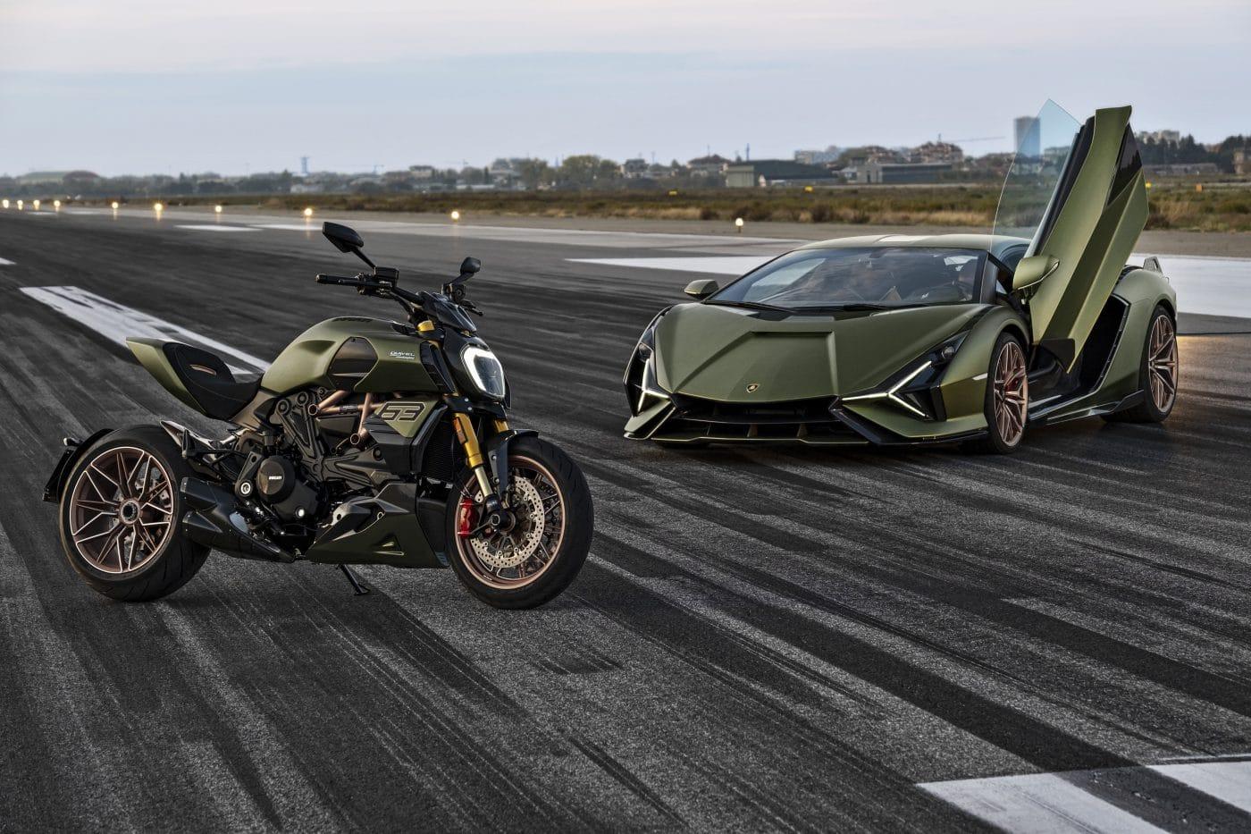 Lamborghini Edition: De Ducati Diavel 1260