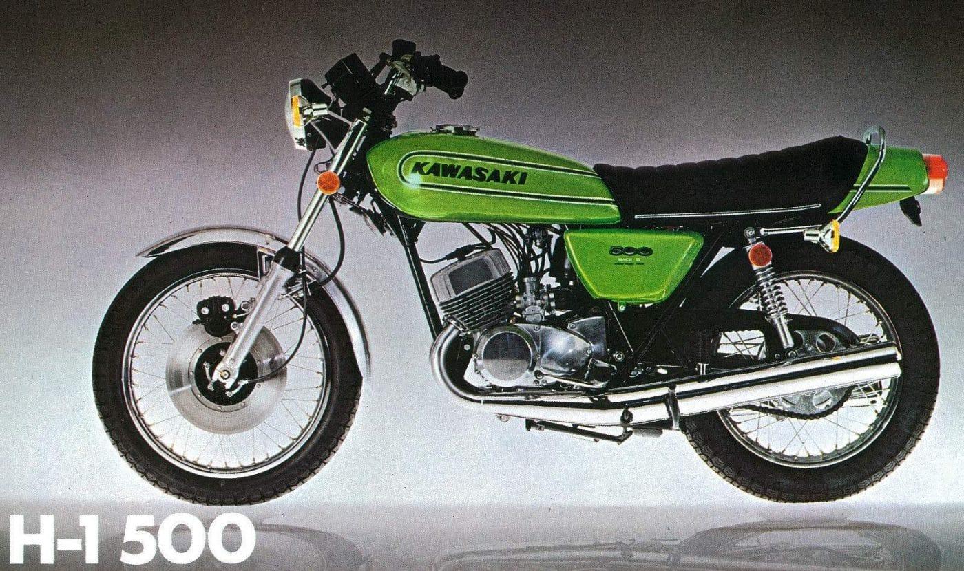 De Kawasaki Oldtimer