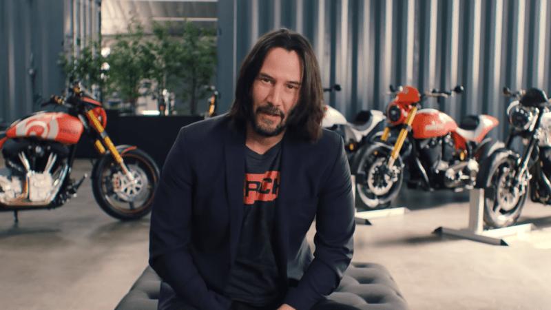 Keanu Reeves motoren