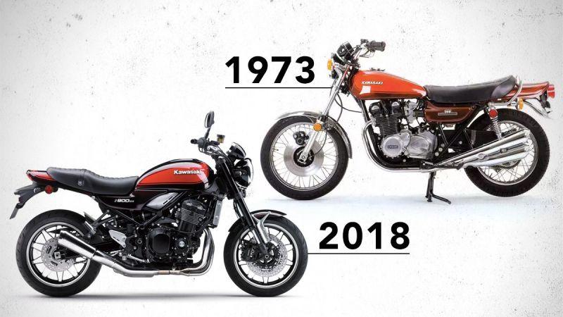 retro motoren z900rs