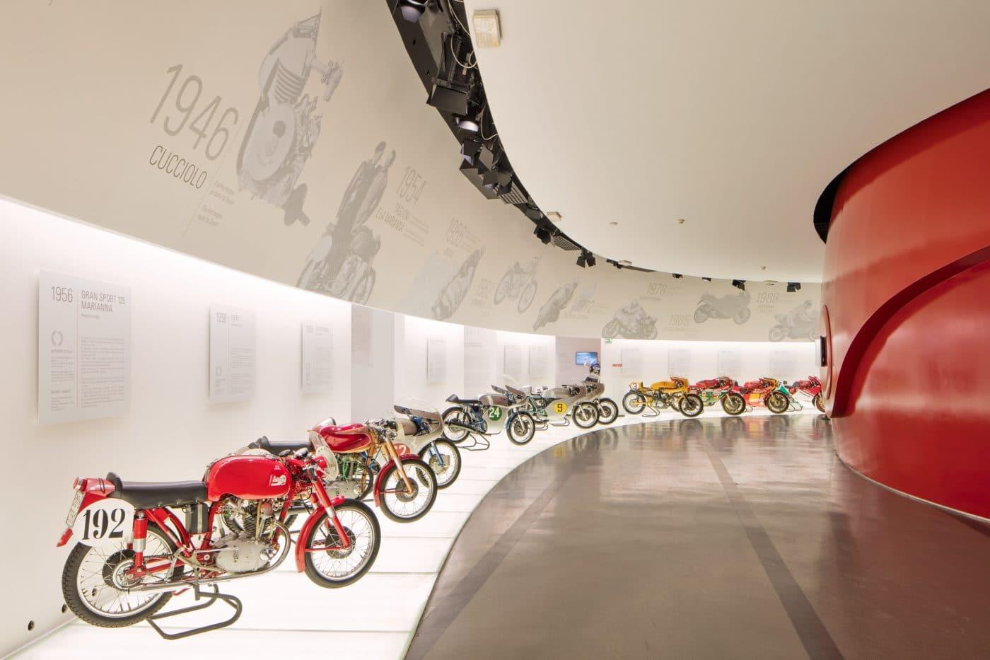 Een digitaal rondje in het Ducati museum