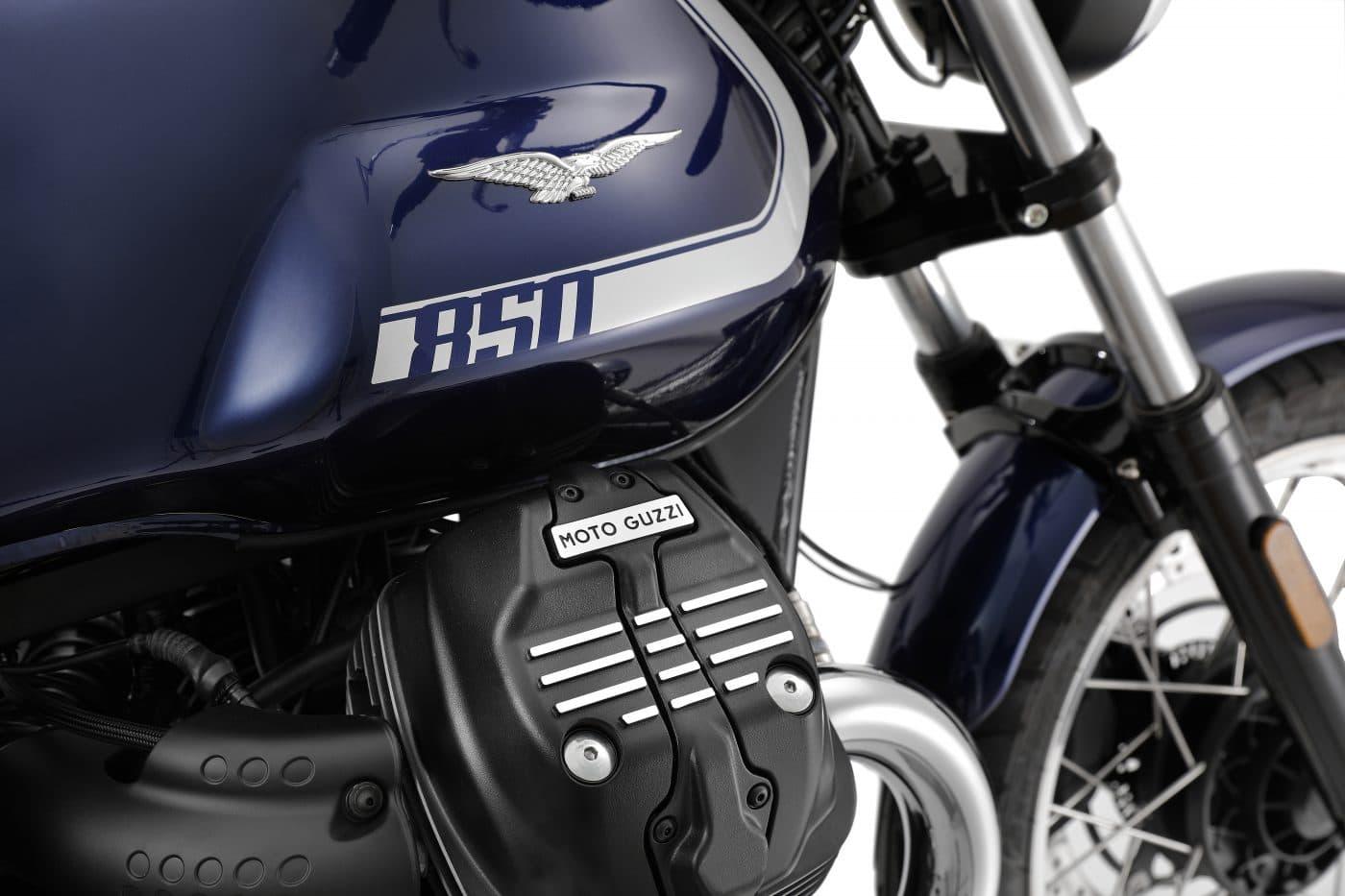 Sneller en comfortabeler: De nieuwe Moto Guzzi V7
