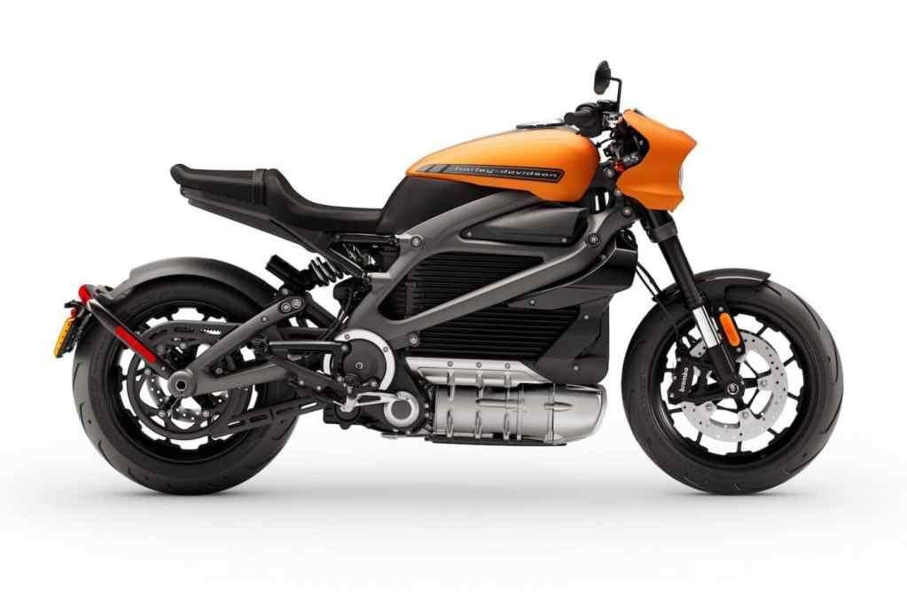 Elektrische Harley Davidson Livewire