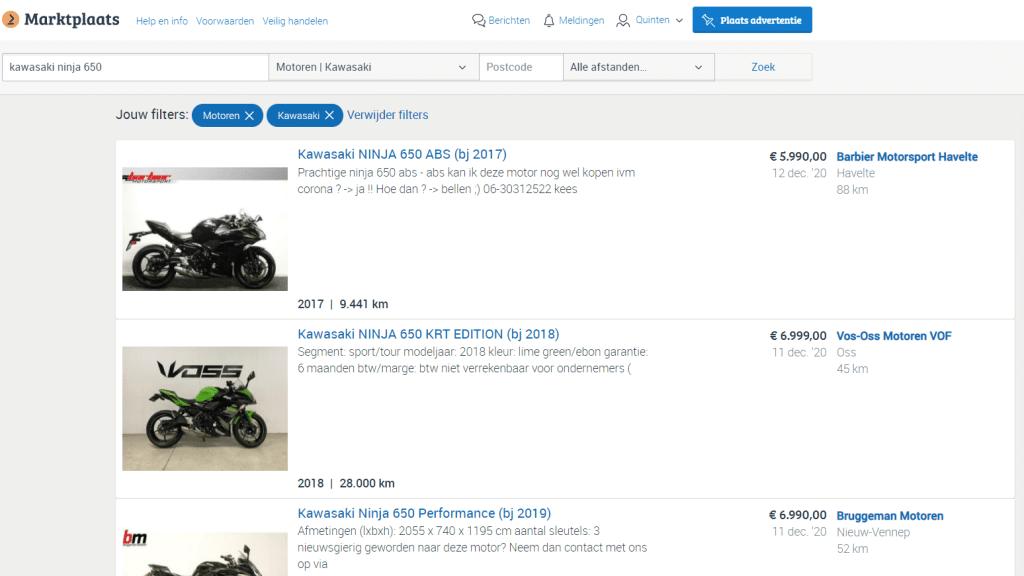tweedehands motor kopen waar op letten