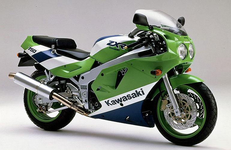 Een klassieker: de Kawasaki ZXR750