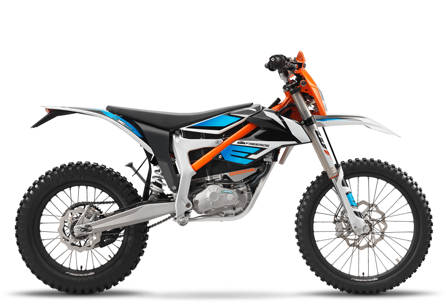 De KTM Freeride: een elektrische motor