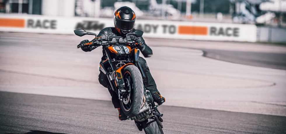 De nieuwe 2021 KTM 890 Duke