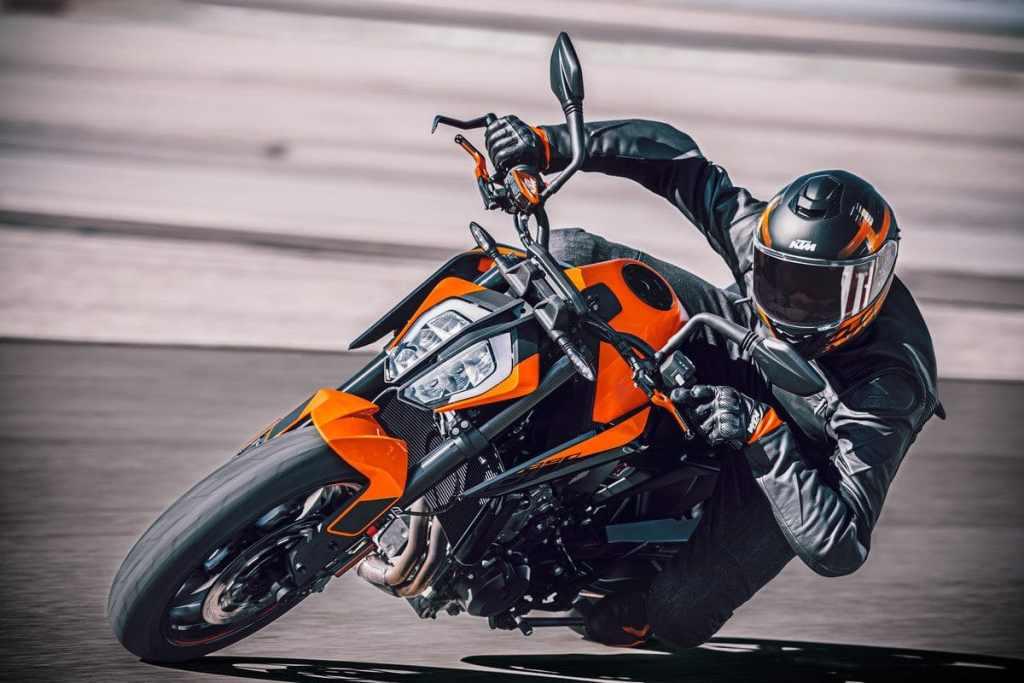 De 2021 890 Duke van KTM