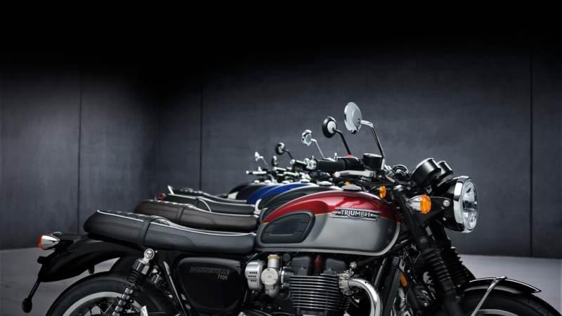 Triumph 2021 Bonneville serie: inclusief limited edition