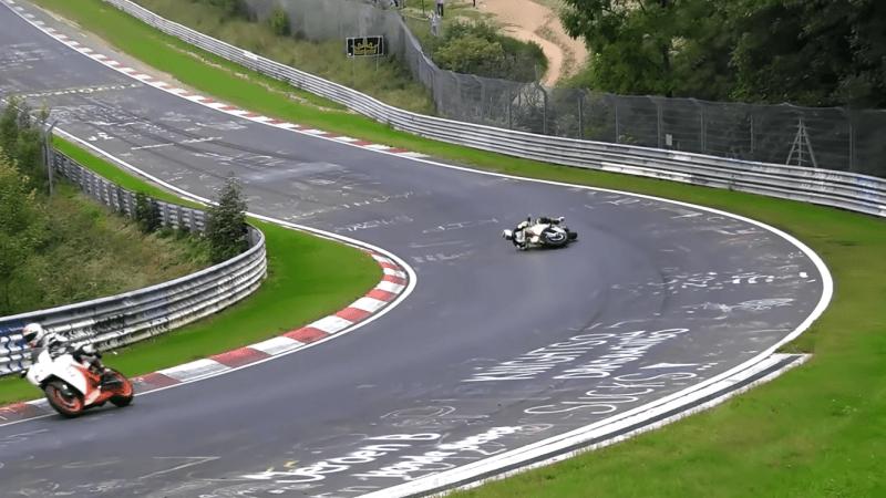 Nurburgring motor crash