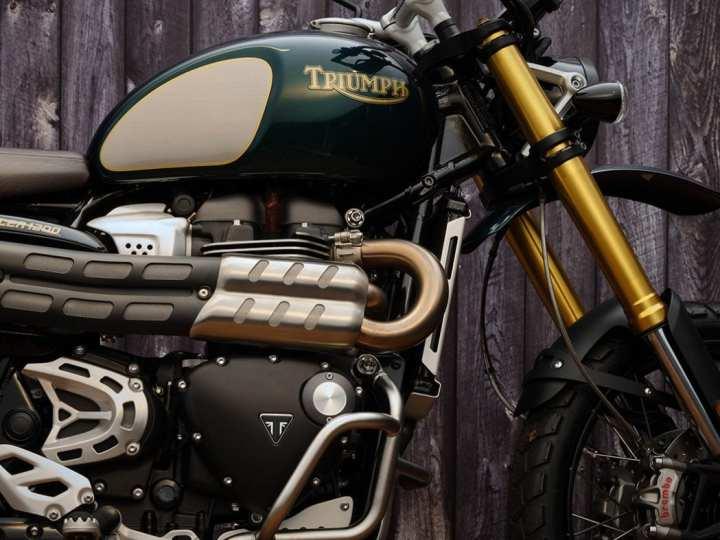 Triumph's nieuwe gelimiteerde Steve McQueen Scrambler 1200