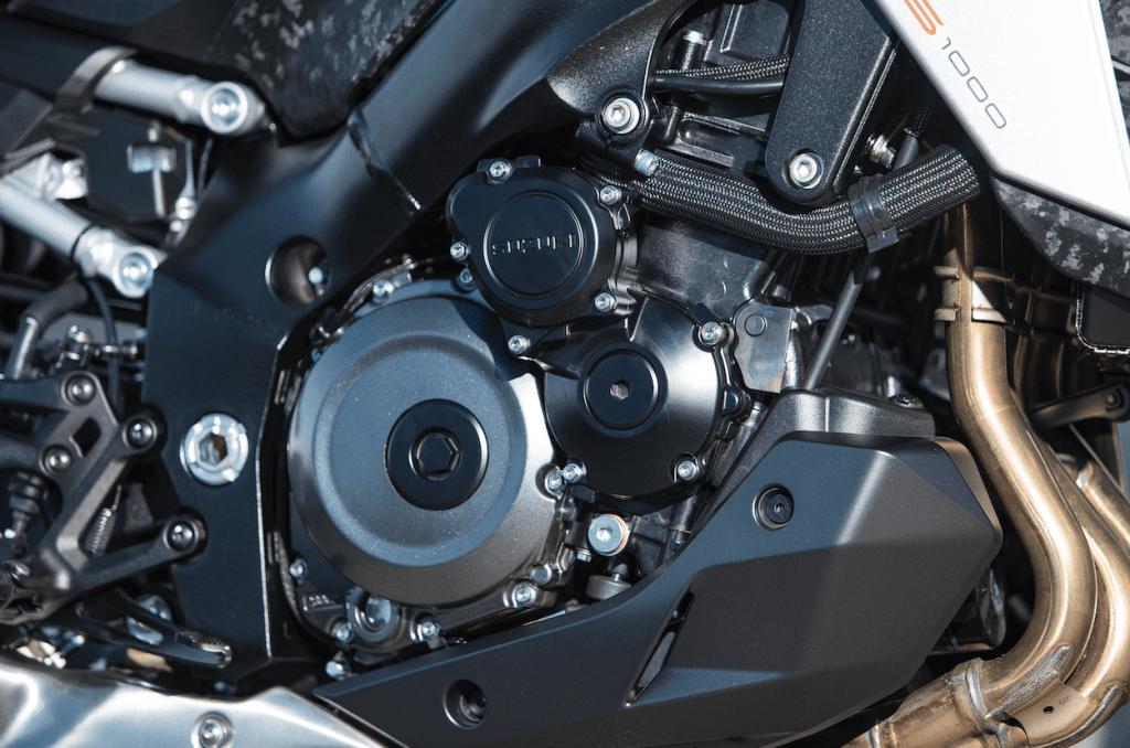 Updates in het blok van de 2021 GSX-S1000