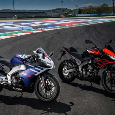 Aprilia RS125 en Tuono 125 2021