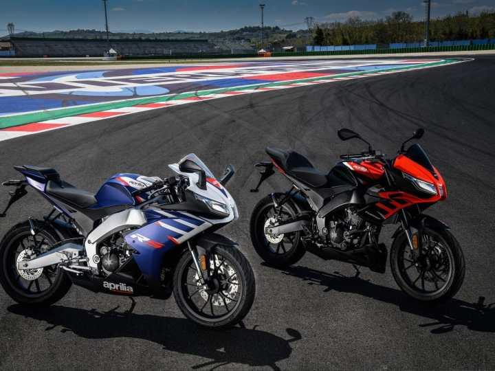 Aprilia RS125 en Tuono 125 2021
