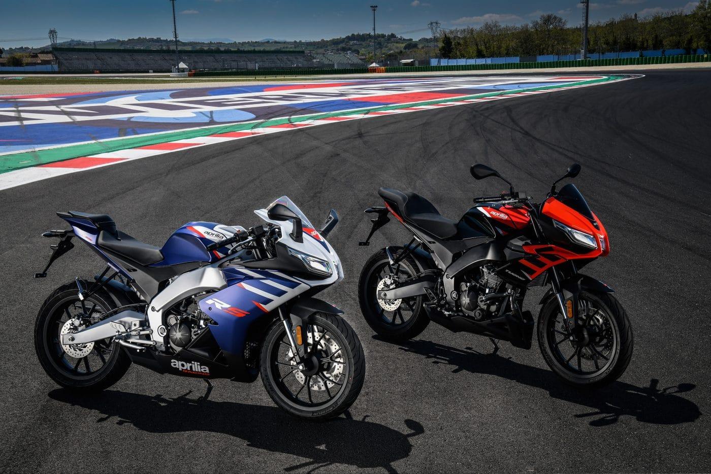 Aprilia presenteert 2021 RS 125 en Tuono 125