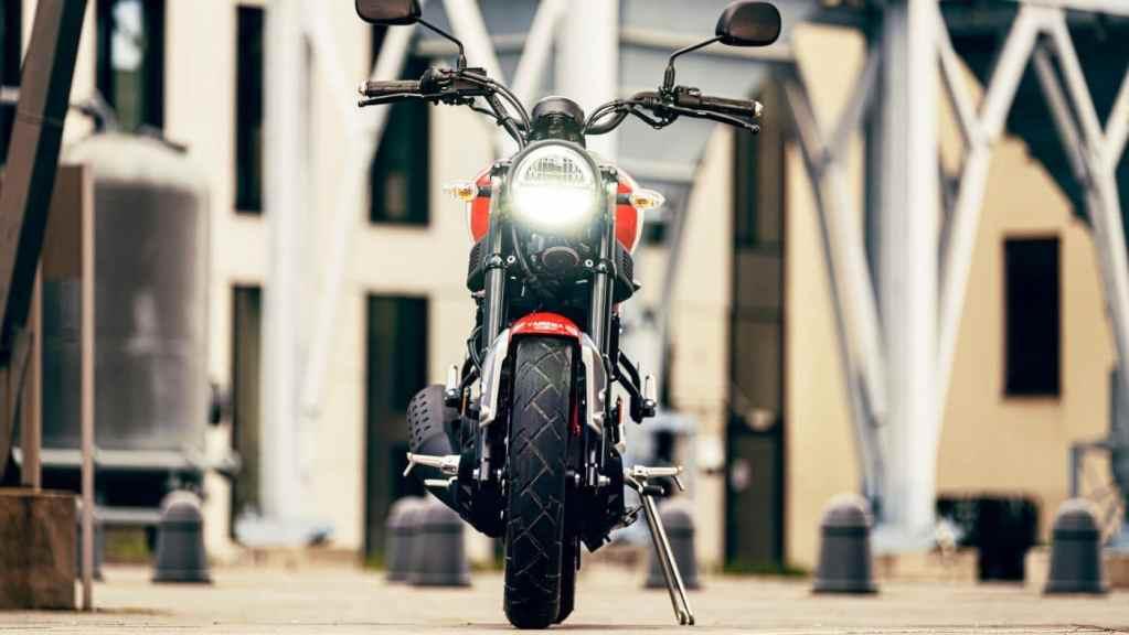 De Yamaha XSR125 in 2021