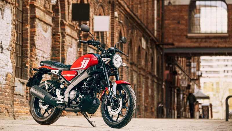 De Yamaha XSR125 gepresenteerd in 2021
