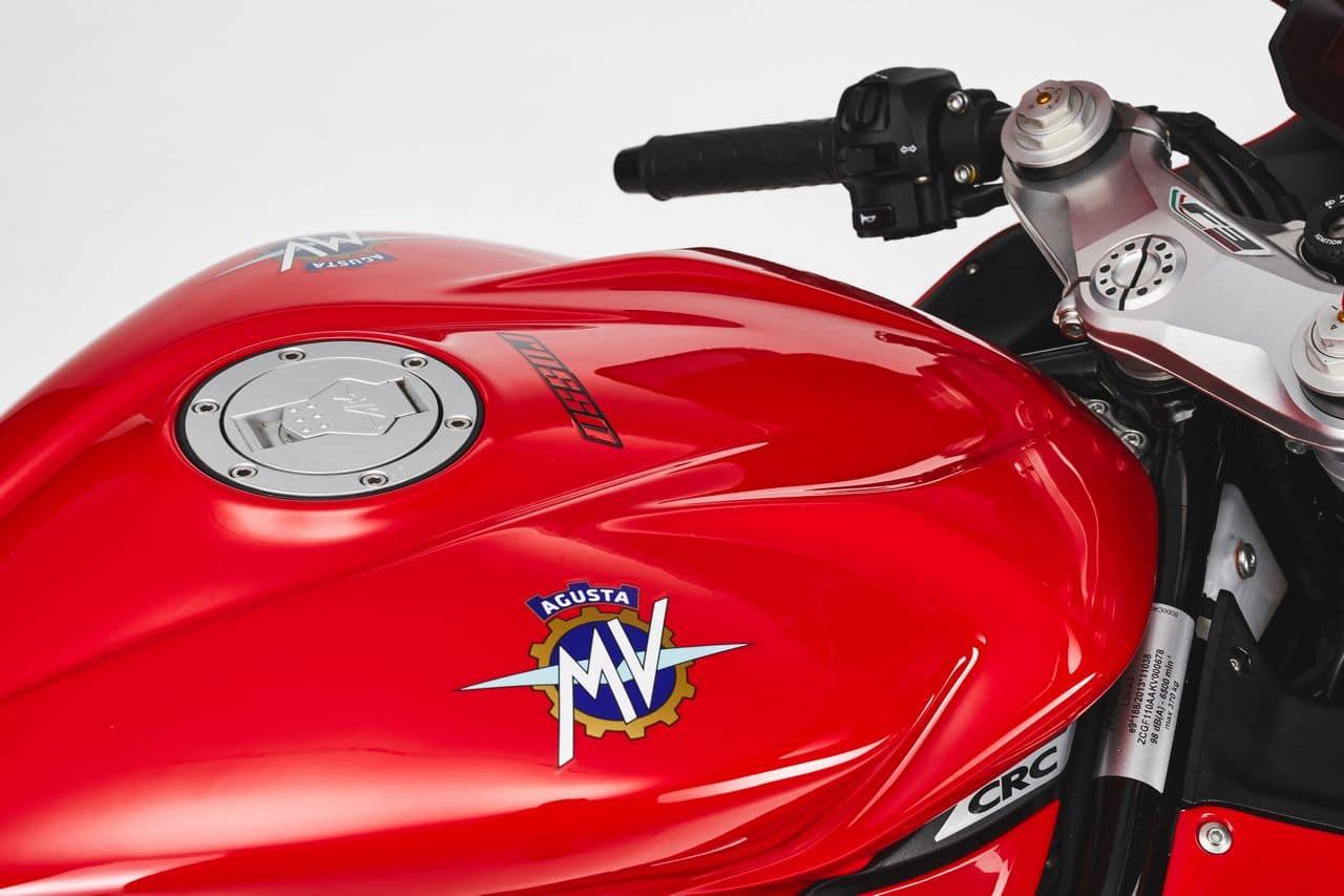 Italiaans rood is niet lelijk: MV Agusta F3 Rosso 2021