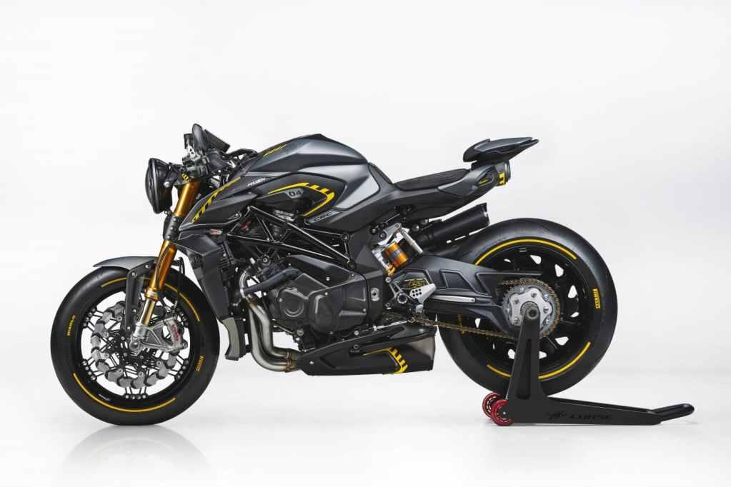 Dé naked bike van MV Agusta