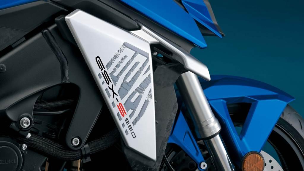 het logo van de Suzuki GSXS950